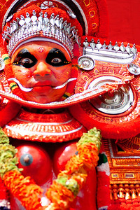 theyyam kerala india