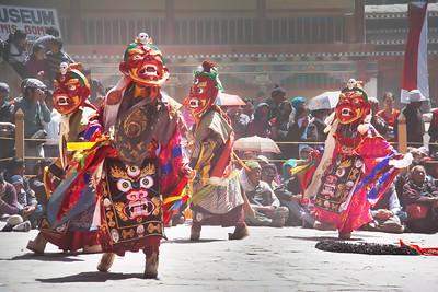 Mask Dance, Hemis Festival