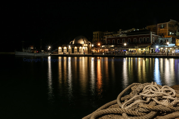 Chania at Night