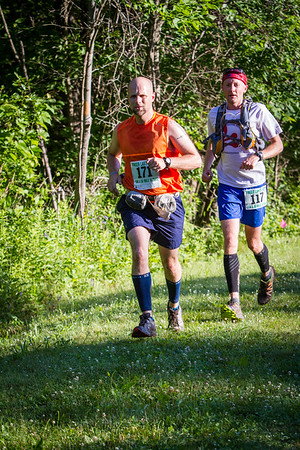 Finger Lakes 50s Race on the trails