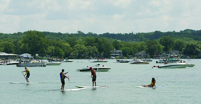 Spencer Tulis/Finger Lakes Times Canandaigua Lake was buzzing with activity saturday as the weather was near perfect and the city was host to several events near the north shore of the lake.