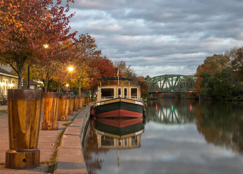 Sam Patch at the Port of Pittsford