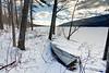 Canadice Lake in Winter