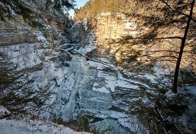 Lucifer Falls, Treman State Park