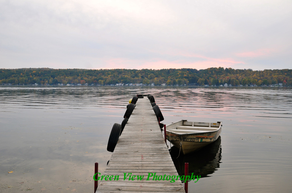 Conesus Lake - Tied to the Dock