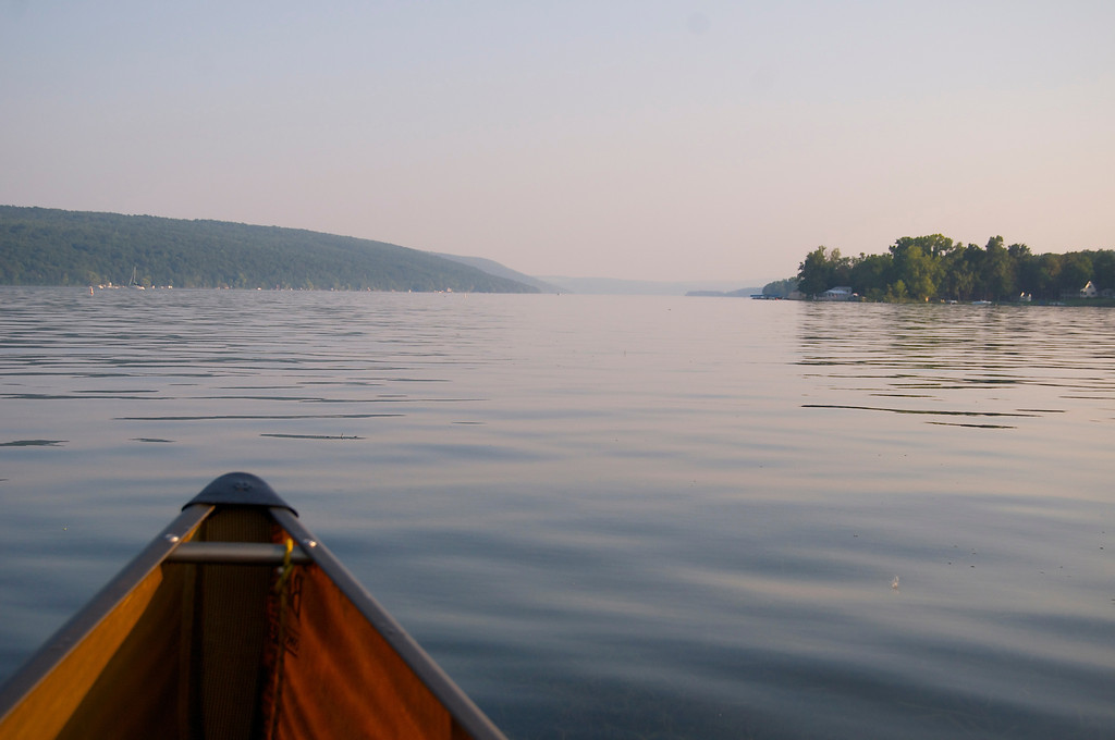 Point the Way Down Cayuga Lake