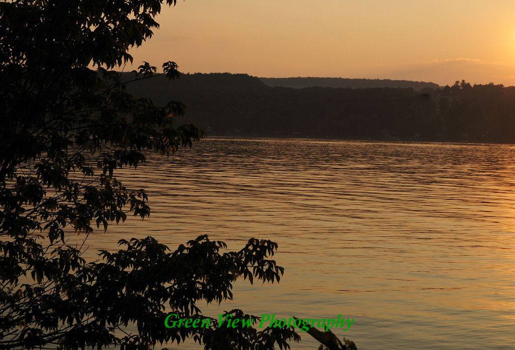 Keuka Lake Sunset