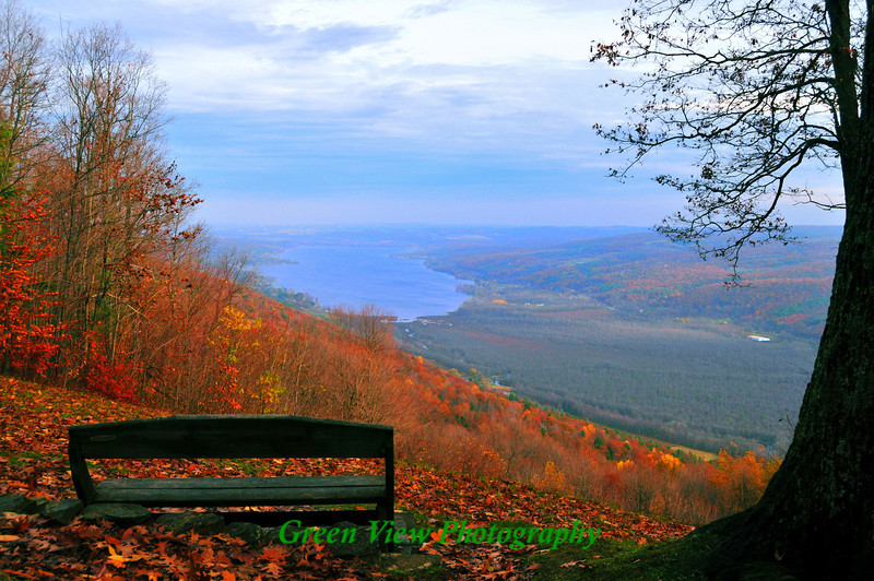 Honeoye Lake from Harriott Hollister