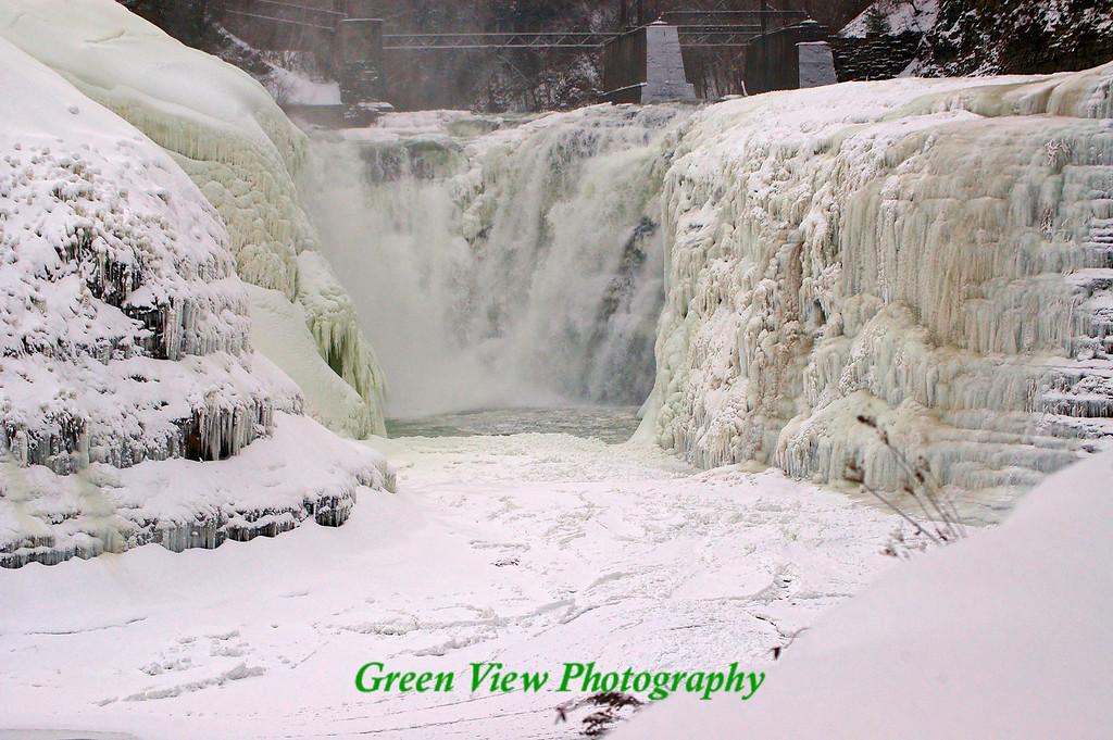 Upper Falls -- Beautiful Ice Sculpture...