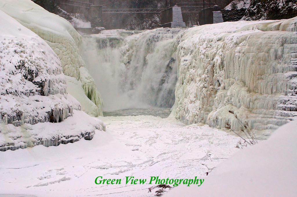 Upper Falls -- Beautiful Ice Sculpture...