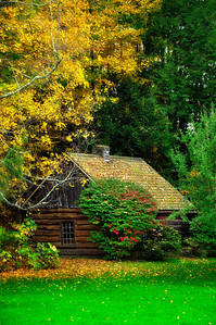 Wooden Cabin in Finger Lakes.