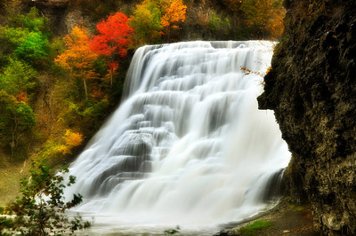 Ithaca Falls on Fall Creek.