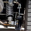 The rear suspenion on the car is a g bar setup from Total Control Products with adjustable coil overs on all four corners