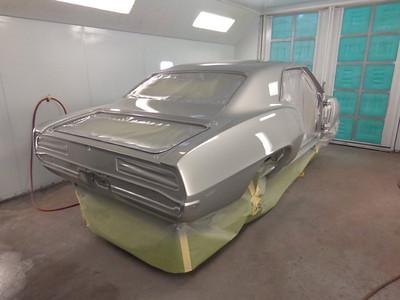 1969 Chevy Camaro X55