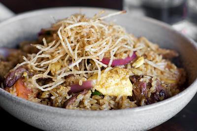 Lomo Saltado Rice