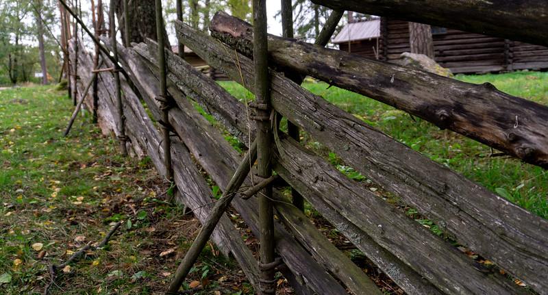 Farm fence, Seurasaari, Helsinki