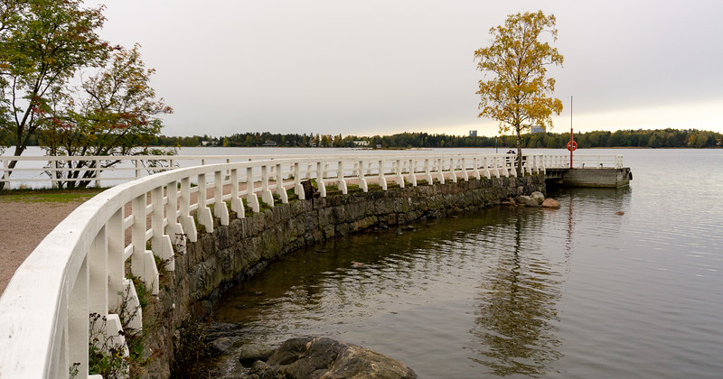Steam boat pier, Seurasaari, Helsinki