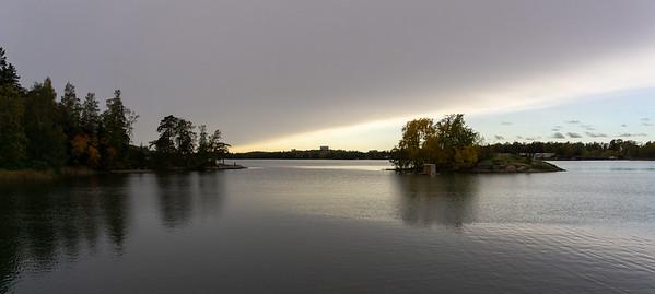Clearing skies, Seurasaari, Helsinki