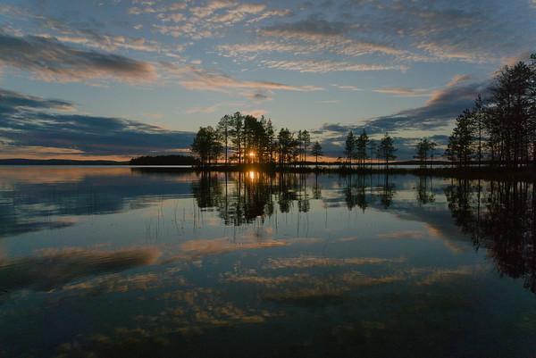 Sunset on Yli-Kirka