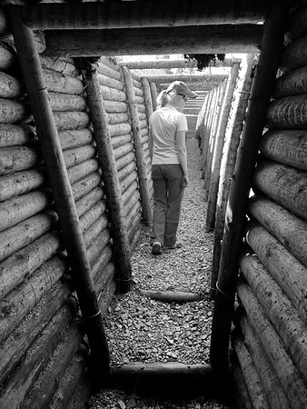 The trenches of the Salpa Line (Salpalinja)