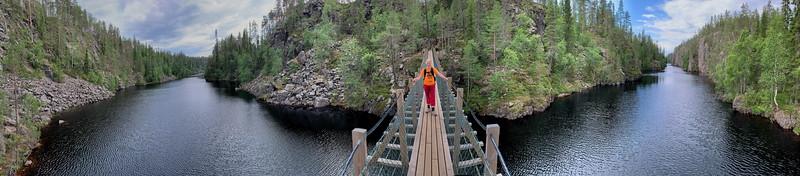 Crossing the Julma Ölkky, Hossa National Park
