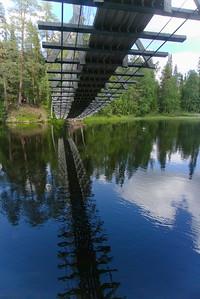 Bridge across the Kitka