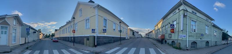 Raahe street corner