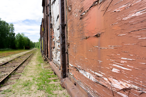 Disused carriages, Porvoo