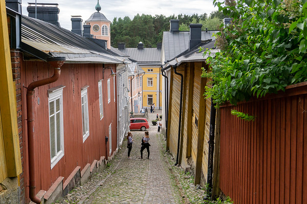 Narrow streets, Old Porvoo