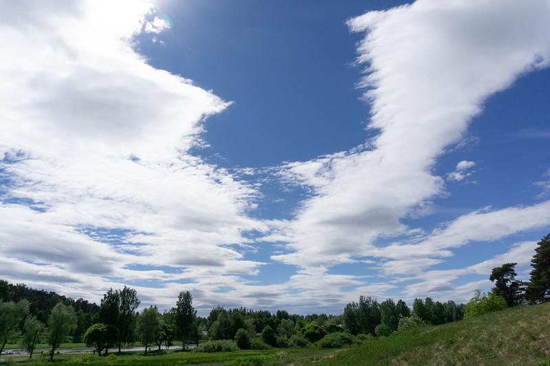 Dramatic Sky, Porvoo
