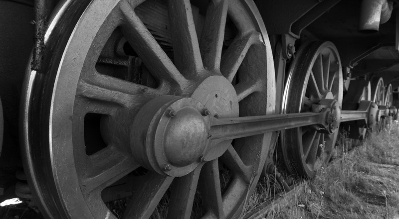 Train wheels, Porvoo