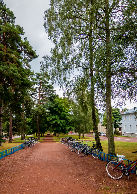 Mariehamn Park Aland Islands