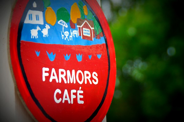 Farmors Cafe - a great little place for cakes and home cooked meals.