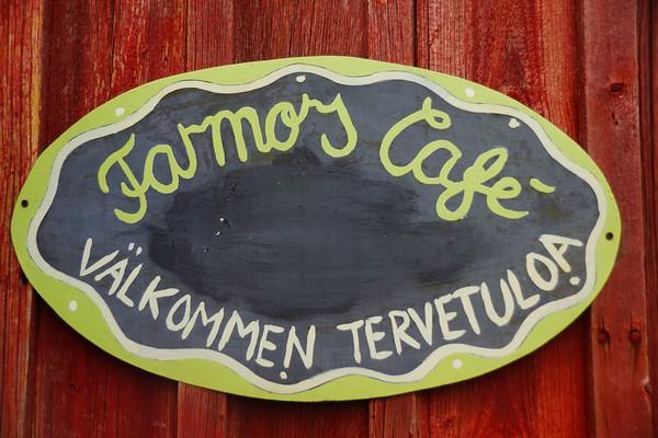 A warm welcome to Farmors Cafe.