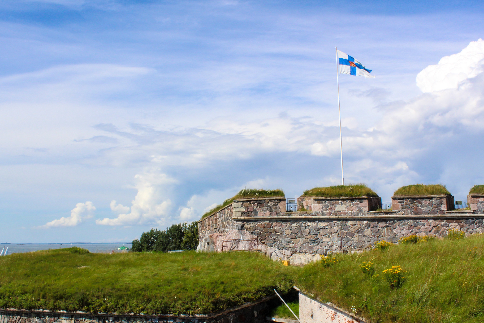 day trip to helsinki: don't miss the fortress