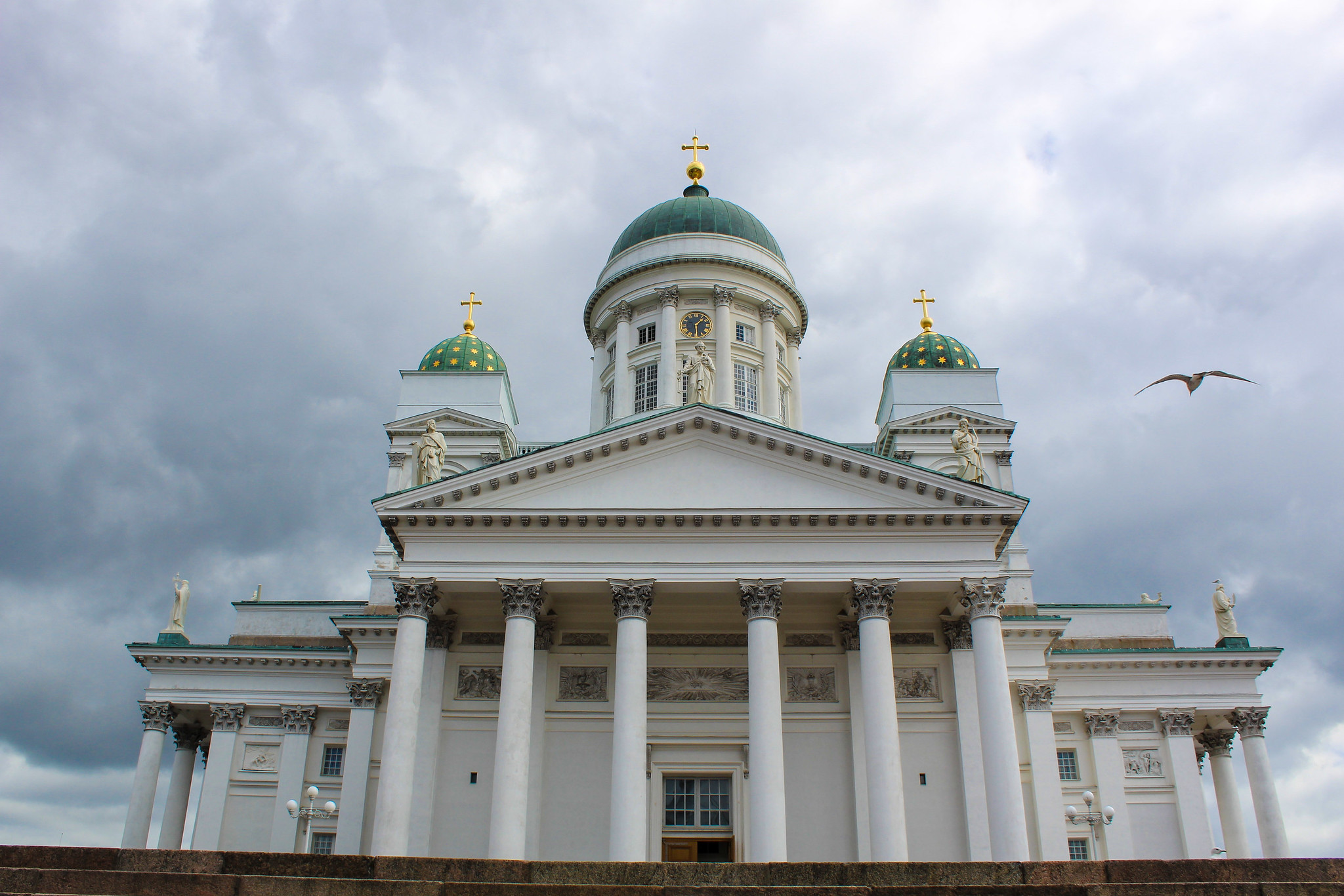 spend time at the cathedrals with 24 hours in helsinki