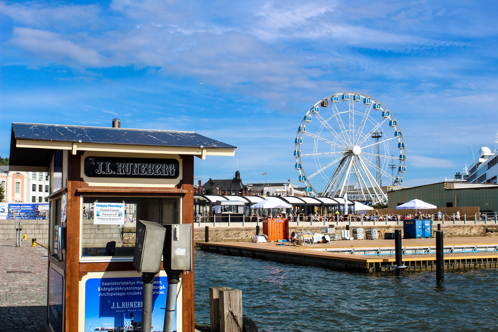 with a helsinki one day itinerary relax at the harbor