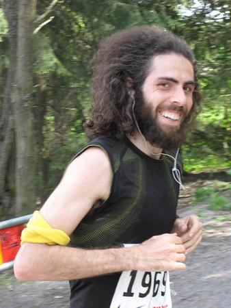 Claudio runs the Helsinki City Run 2008