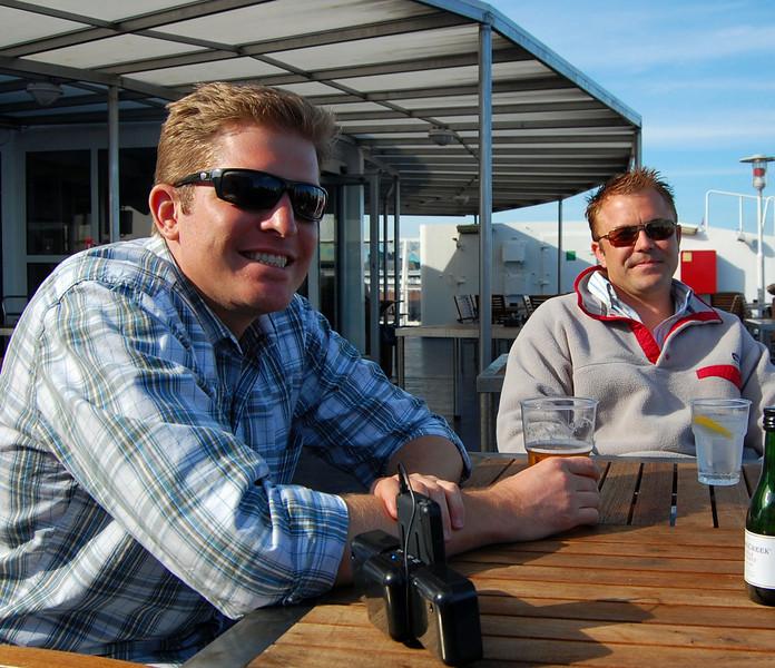 Nice day with my buddy in Helsinki