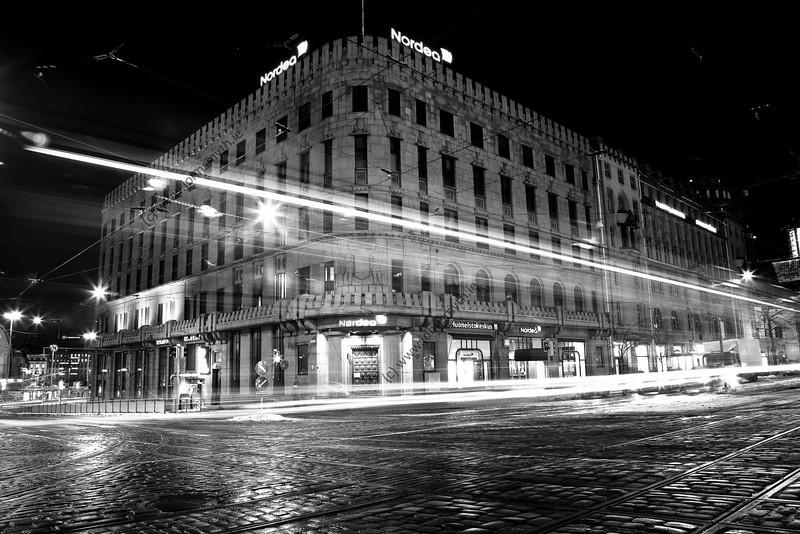 Cityscape in Helsinki, Finland.