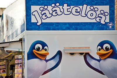 Penguins mean - Ice Cream - Jaateloa