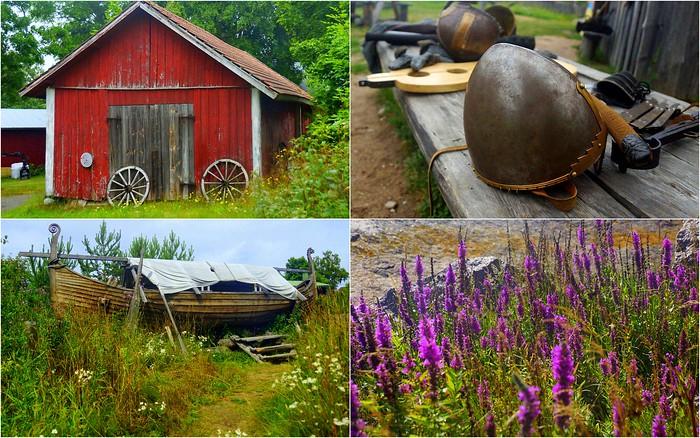 Visiting Rosala Viking Village for the Day