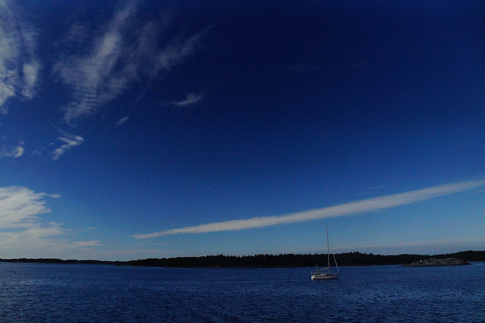 Sailing in the Finnish Archipelago