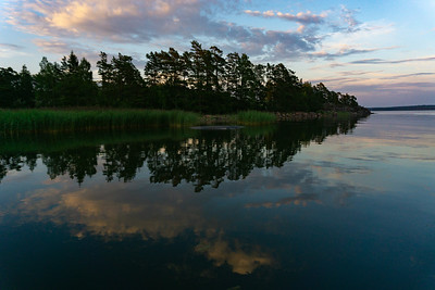Reflections in the Baltic, Southwestern Finland