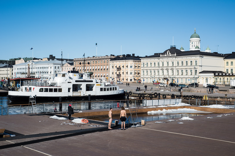 Outdoor swimming | Helsinki | Finland