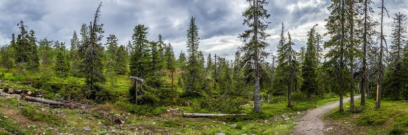Hiking Äkäslompolo