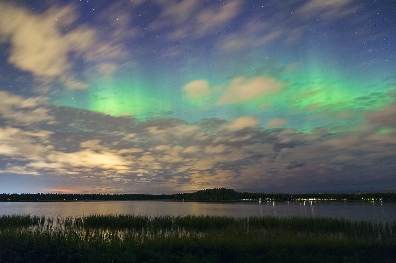 Lake Kuivasjärvi Aurora 2