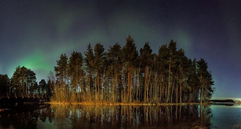 Faint Aurora