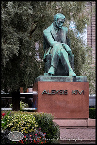 Aleksis Kivi, Finnish author from mid 1800s