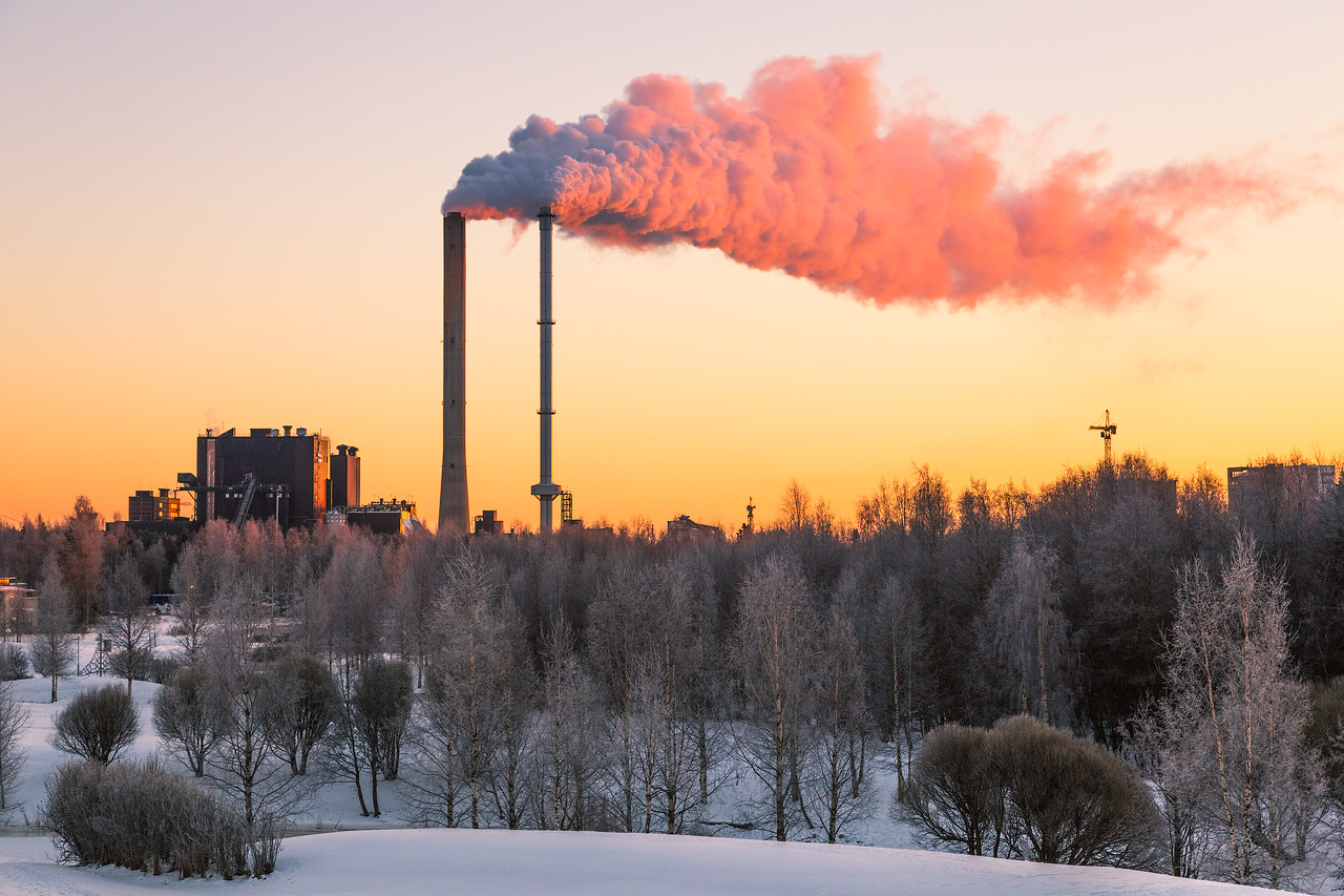 Factory Sunset